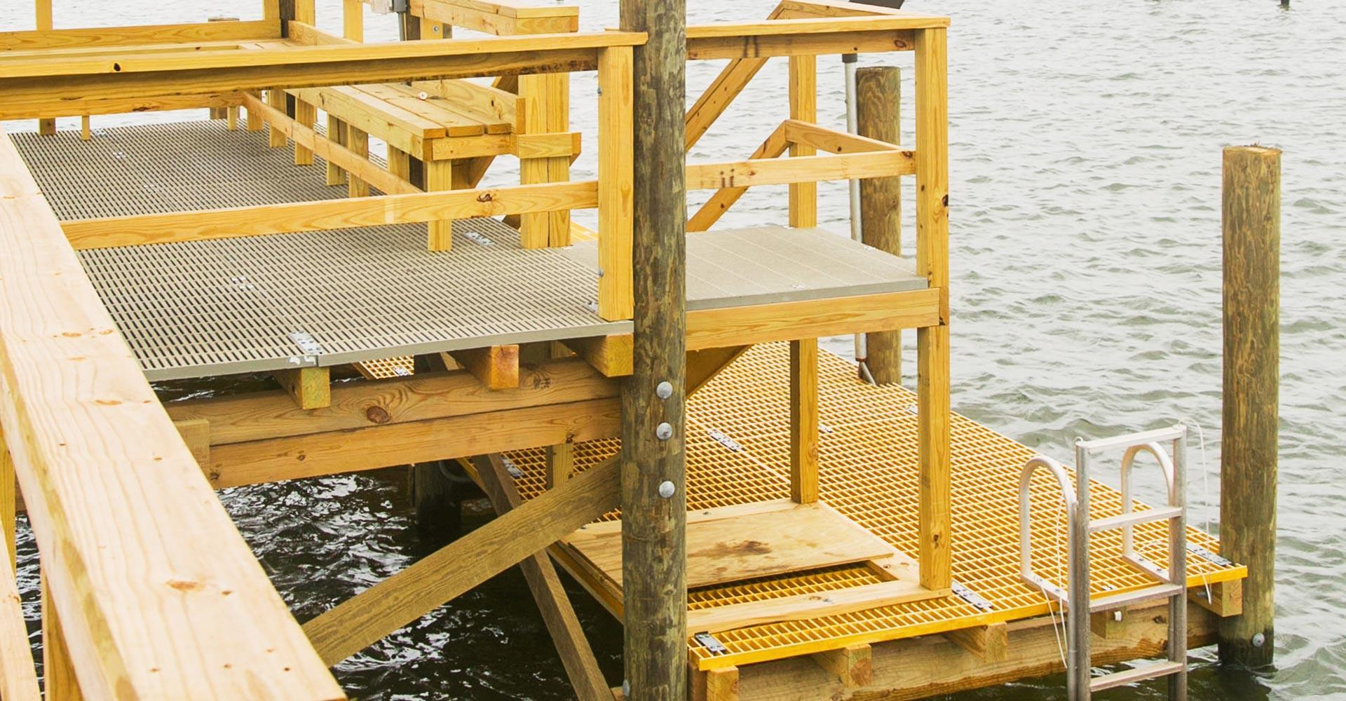 waterfront dock contractor